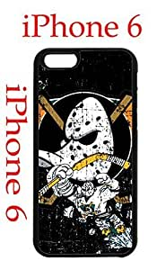 Anaheim Ducks iPhone 6 Plus 5.5 Case Hard Silicone Case