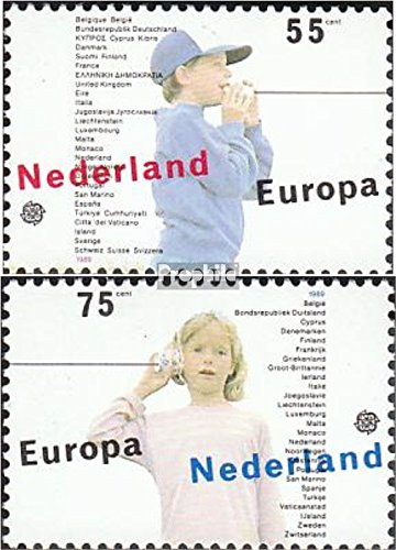 Netherlands 1364-1365 (Complete.Issue.) 1989 Kids Games (Stamps for Collectors)