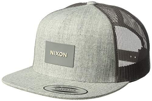 - NIXON Men's Team Trucker Hat, Heather Gray, One Size Fits All