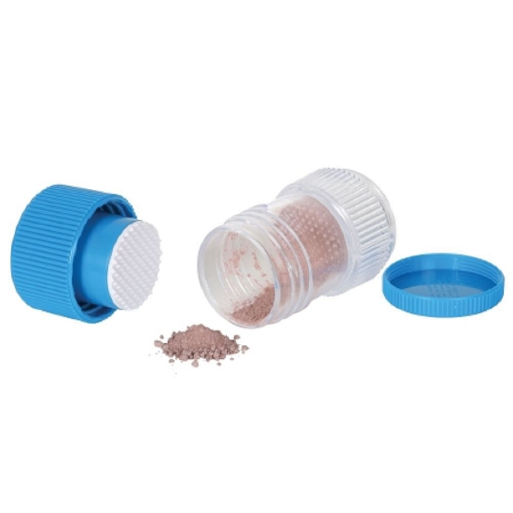 Apothecary Products - Pill Crusher - Twist Mechanism - Blue-McK