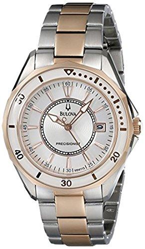 Bulova Women's 98M113 WINTER PARK Two Bone Bracelet Watch