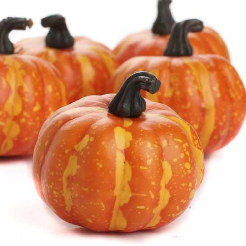 Factory Direct Craft Package of 24 Small Artificial Pumpkins