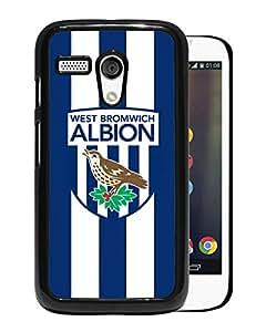 New Fashion Custom Designed Skin Case For Motorola Moto G With West Bromwich Albion Black Phone Case 1