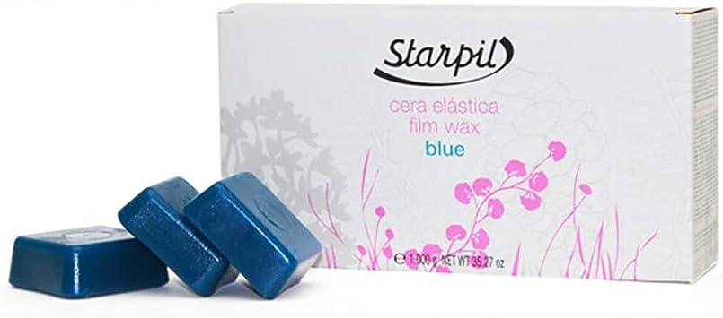 Cera Depilatória Elástica Lipossolúvel 1kg Blue Starpil Br Beleza