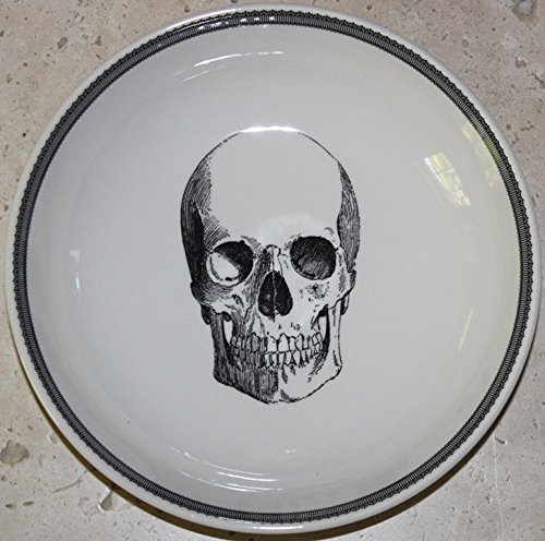 The Victorian English Pottery Halloween Skeleton 7-5/8