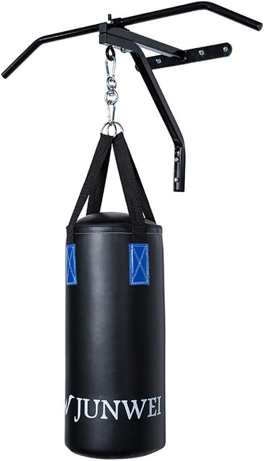 Asolym Boxsackhalterung Wandhalterung Hochleistungs-Boxsackhalterung Punch Focus Speed Stands Stahlrahmen Deckenhakenhalter MMA Training Home Gym Excersice Fitness