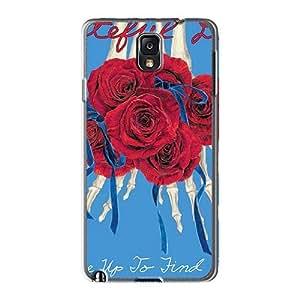 AlissaDubois Samsung Galaxy Note3 Scratch Protection Phone Case Custom Fashion Grateful Dead Image [LGU9846zFct]