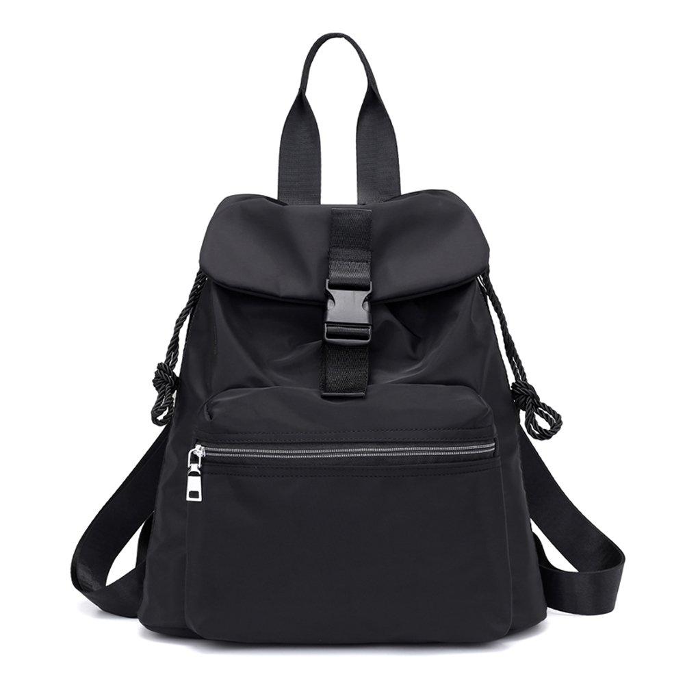 Backpack Top Handle Women Waterproof Travel Drawstring Casual Shoulder Bag Rucksack
