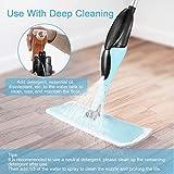 MOOSOO Spray Mop, Hardwood Floor Mop with 2