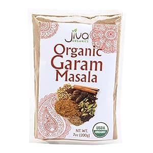 Jiva Organics USDA Organic Garam Masala, 7 Ounce