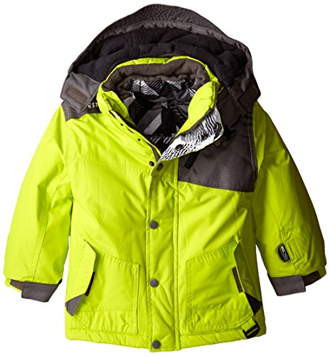 Big Chill Little Boys Systems Coat With Puffer Vest  Mantis  5