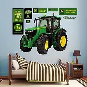 John Deere 7280R Tractor Wall Decal 62 x 54in