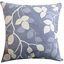 Multi-size Both Sides Leaves Print Stuffed Throw Pillow LivebyCare PP Cotton Insert Filling Filled Cushion Pattern Zipper For Play Room Sofa Couch Chair Back Seat