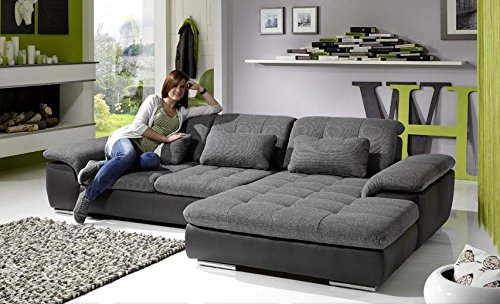 Loungesofa Wohnlandschaft Sofa Couch Ecksofa Eckcouch Plansofa Isola