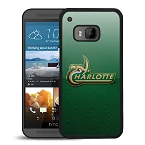 Fcs North carolina charlotte 49ers 03 Black Hard Shell Phone Case For HTC ONE M9
