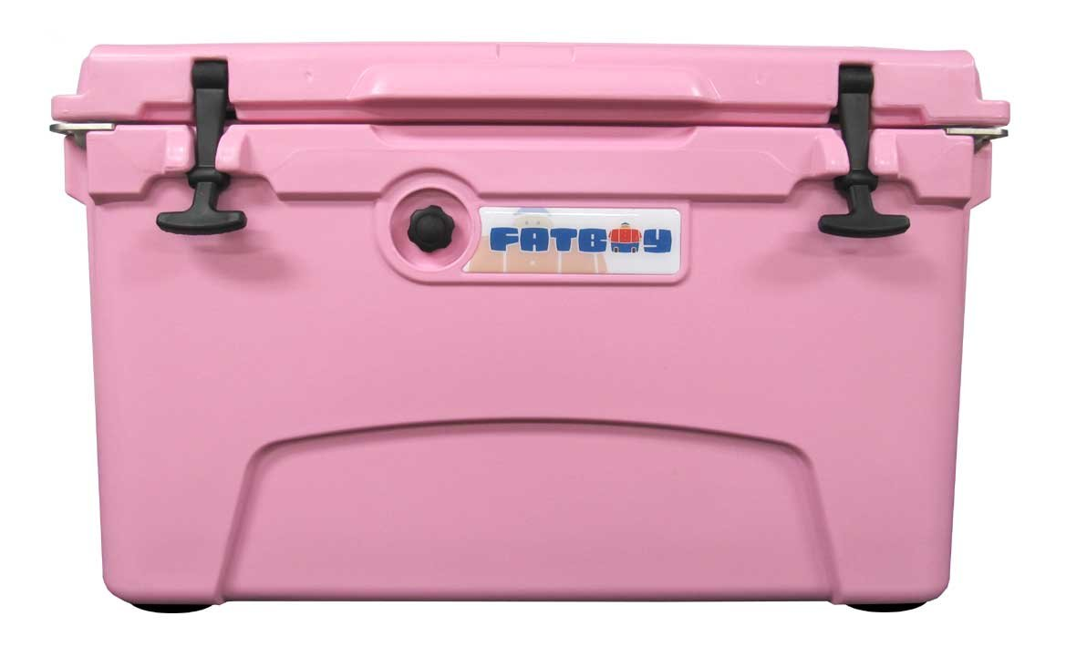 Fatboy 45QT Rotomolded Chest Ice Box Cooler Pink by Fatboy