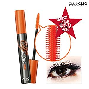 Clio Salon De Cara Finger Longlash Mascara, Black, 9 Gram