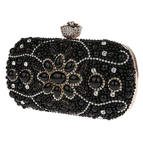 Soirée Femmes Noir Pochettes Sac Pochette de Sacs KAXIDY Tq7Fn1x