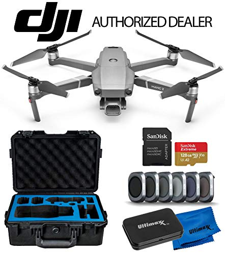 "DJI 2019 Mavic 2 Pro 2 Drone Quadcopter with Hasselblad Camera 1"" CMOS Sensor Premium Essentials Travel Kit"