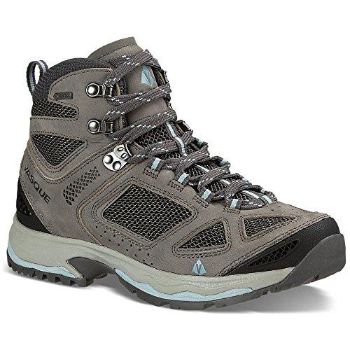 Vasque Womens Breeze Iii Hiking Boot Gtx Gargoyle/Blue Medium 7 (Vasque Mountain Boot)