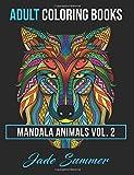 2: Mandala Animals: Adult Coloring Books