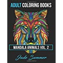 2: Adult Coloring Books: Animal Mandala Designs and Stress Relieving Patterns for Anger Release, Adult Relaxation, and Zen (Mandala Animals) (Volume 2)