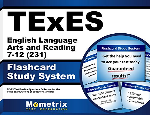 TExES English Language Arts and Reading 7-12 (231) Flashcard Study System: TExES Test Practice Questions & Review for the Texas Examinations of Educator Standards (Cards)