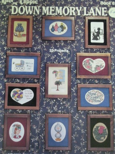 Down Memory Lane  Counted Cross Stitch