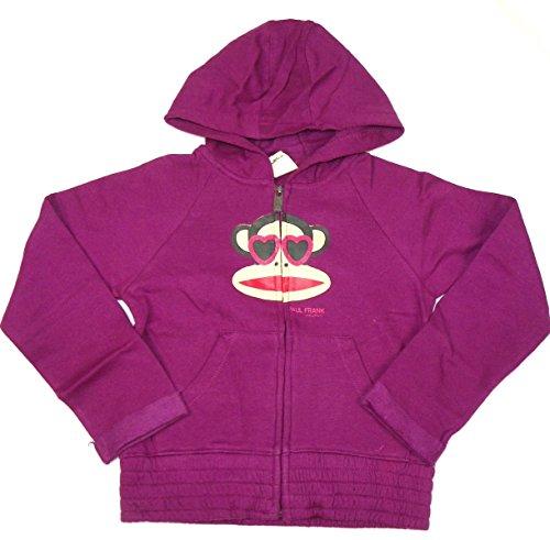 paul-frank-girls-4-6x-heart-eyes-julius-full-zip-hoodie-purple-large