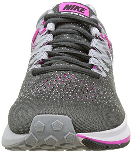 half off 5d857 f3a27 ... good exclusive online nike womens air zoom structure 20 running shoe  anthracite wolf grey fire 11f9e