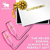 CHAMBONG – 6 oz Classic Size, 2 Pcs Glass with