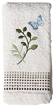 Saturday Knight Fluttering Bath Collection - Fingertip Towel / Wash Cloth Saturday Knight LTD. COMIN18JU091745