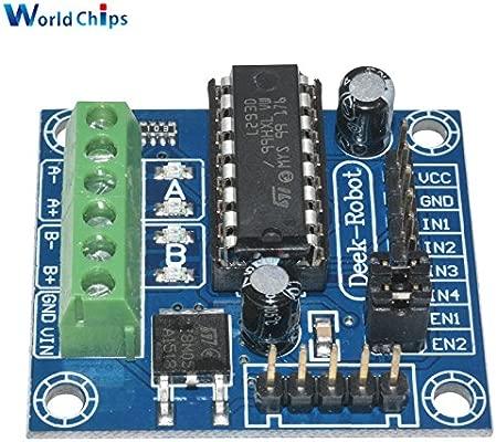 Mini 4 canales Motor Drive Shield Tarjeta de expansión L293D ...
