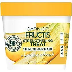 Garnier Fructis Strengthening Treat 1 Minute Hair Mask, 3.4 fl. oz.