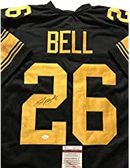 7f2f3081091 Autographed/Signed Le'Veon LeVeon Bell Pittsburgh Steelers Color Rush Jersey  JSA COA