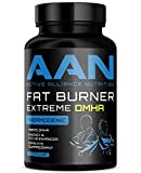 AAN's Fat Burner EXTREME DMHA - Energy Booster, Weight Loss / Stubborn Belly Fat, Thermogenic Pills - Green Coffee Bean, Eria Jarensis, Yohimbe, Caffeine, Multi Vitamin (30 Servings) (60 Capsules)