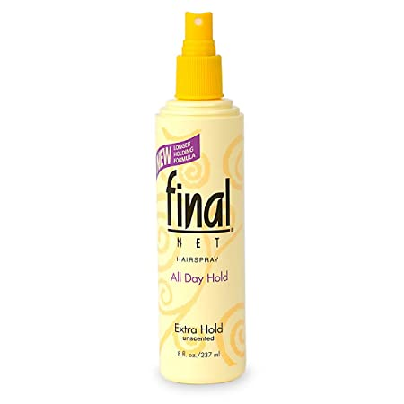 Final Net Non-Aerosol Hairspray, Extra Hold, 8 oz Pack of 10