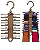 2-PACK Tenby Living Tie Racks, Organizer, Hanger, Holder -...