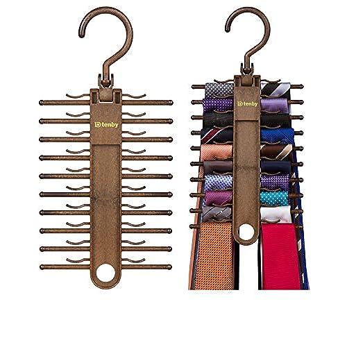 Wonderful Tenby Living 2 PACK Tie Racks, Organizer, Hanger, Holder   Affordable Tie  Rac.