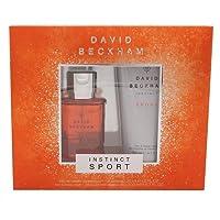 Beckham Instinct Sport Eau De Toilette and Shower Gel Gift Set