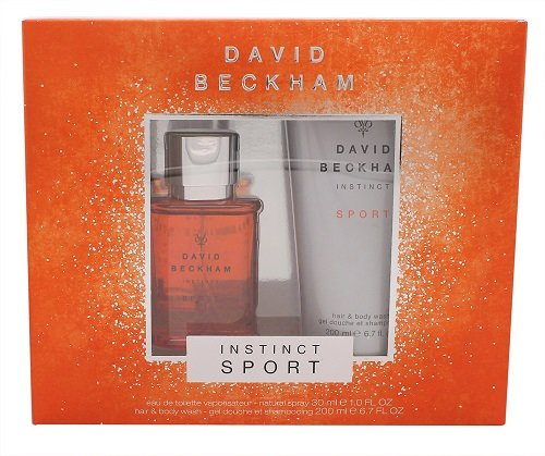 Beckham Instinct Sport Eau De Toilette and Shower Gel Gift Set Coty 32337050100