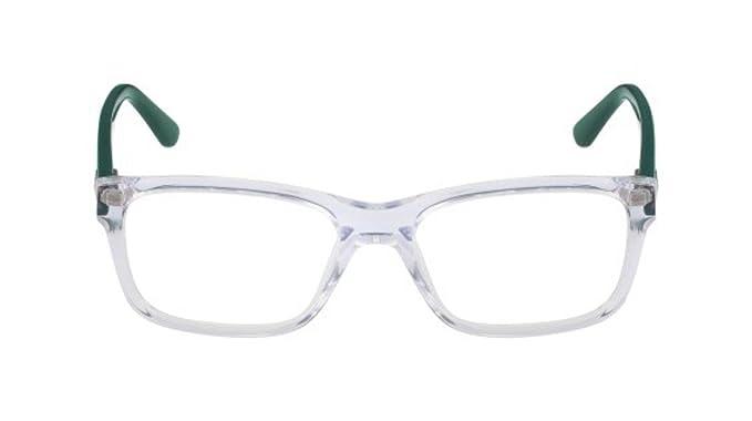 Lacoste L3612 971 49, Monturas de Gafas Unisex-niños, Crystal
