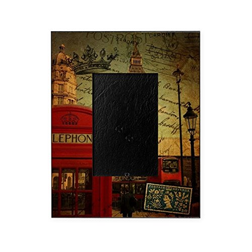 CafePress - Vintage London UK Fashion - Decorative 8x10 Picture - Frames London Vintage