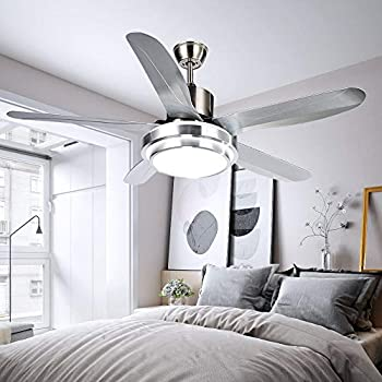 Luxurefan Simple Modern Ceiling Fan Light Durable