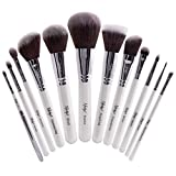Nanshy Masterful Collection Makeup Brush Set - Pearlescent White