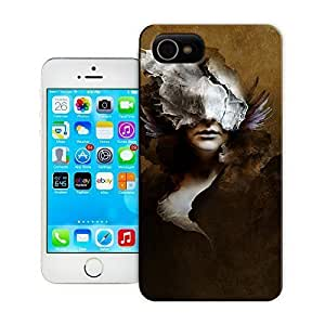 TYH - Unique Phone Case Women in the Arts kubicki woman digital art portrait computer painting photoshop female design Hard Cover for iPhone 5/5s cases-buythecase ending phone case