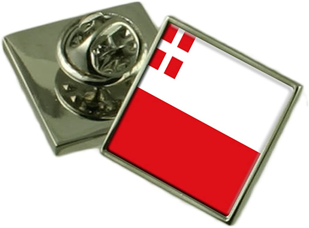 Utrecht Lapel Pin Badge Engraved Personalised Box