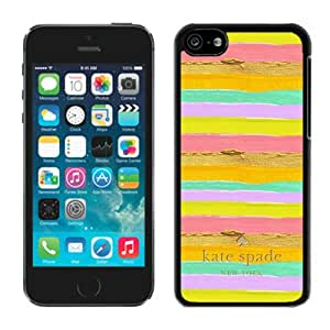 Personalized Popular Design iPhone 5C Case Kate Spade New York Phone Case For iPhone 5C Plastic Cover Case 111 Black
