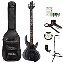 ESP LTA204FRXBLKS-KIT-1 Tom Araya Signature Series204 FRX Electric Bass