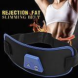 Kaimu Electronic Muscle Arm Leg Waist Tummy Abdominal Massager Slimming Body Buliding Toning Belt with Gel Home Gyms